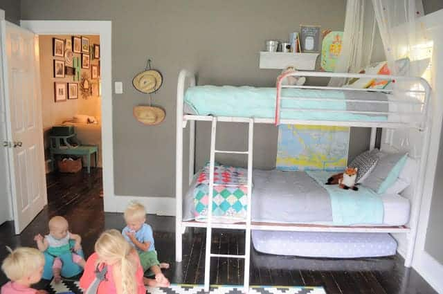 Living Small- Shared Kids Room