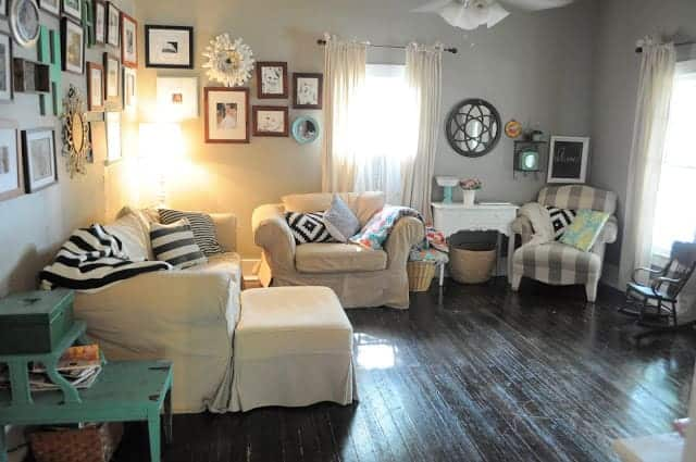 Living Small- Living Room
