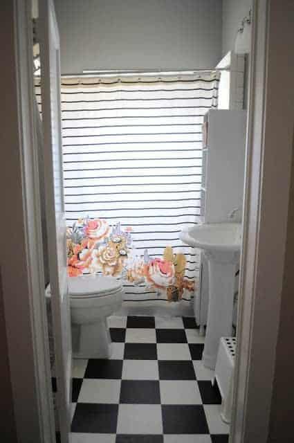 Living Small- The Bathroom
