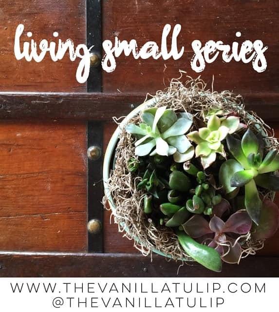 Living Small: Budgeting