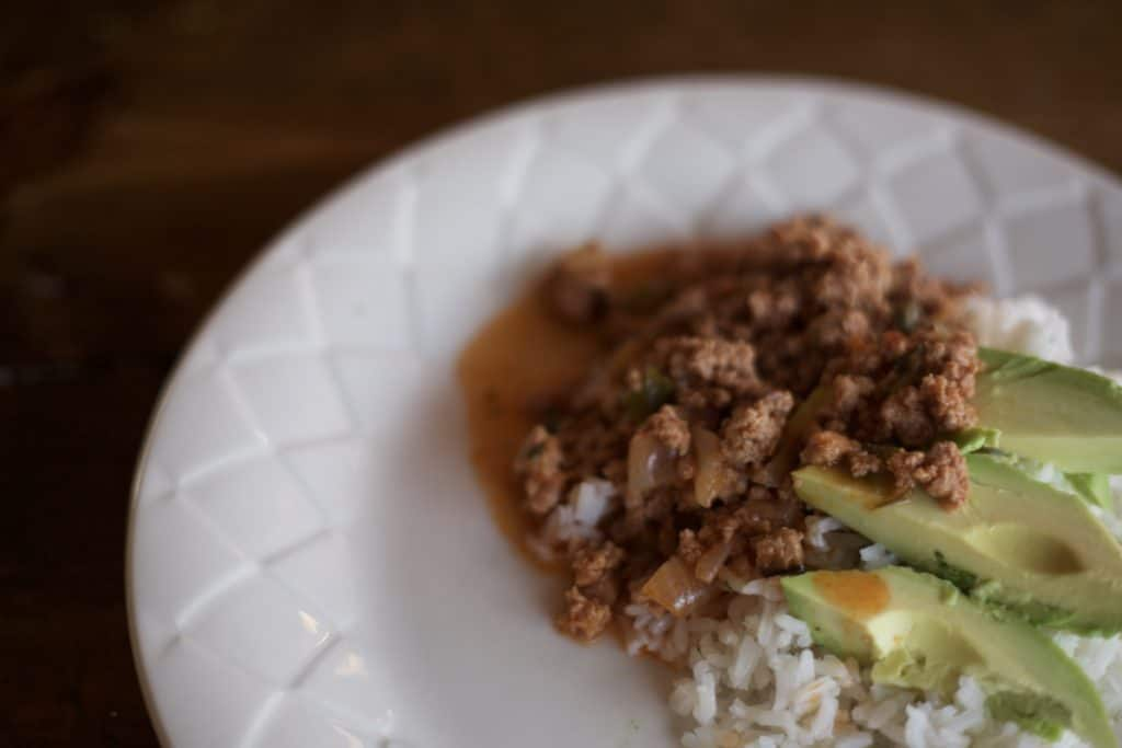 Instant Pot Picadillo: A recipe my WHOLE family will eat!