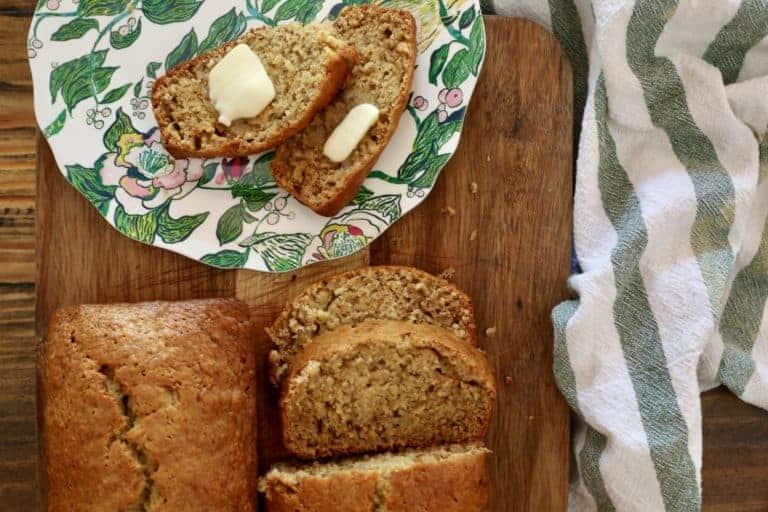 Grandma's Banana Bread Recipe