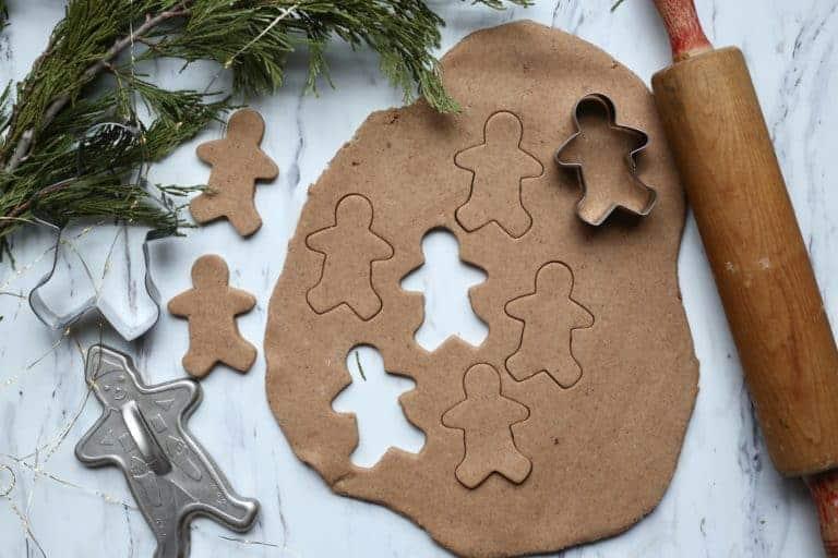 Homemade Gingerbread Playdough