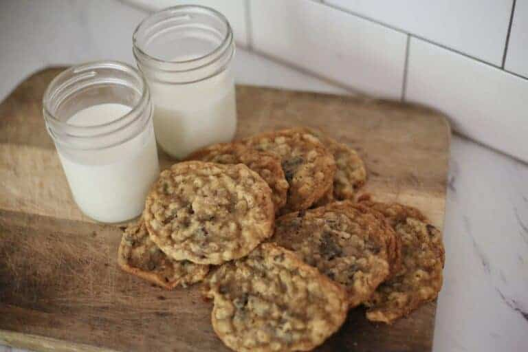 Best Ever Chewy Oatmeal Chocolate Chip Cookies