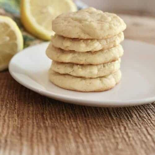Soft Lemon Sugar Cookie