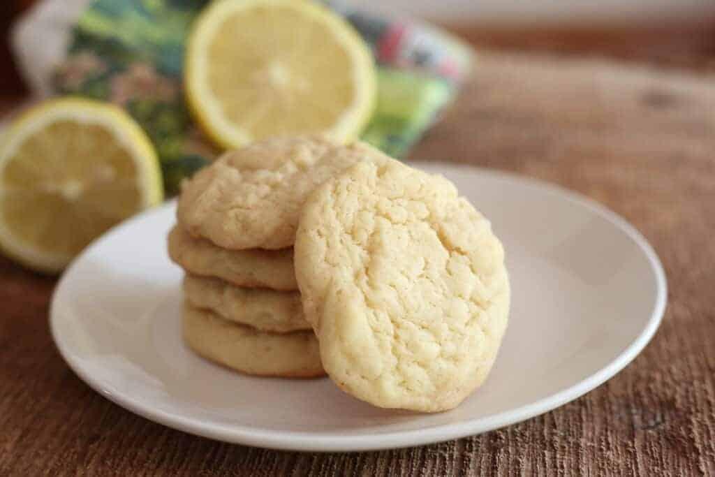 Chewy Lemon Sugar Cookies