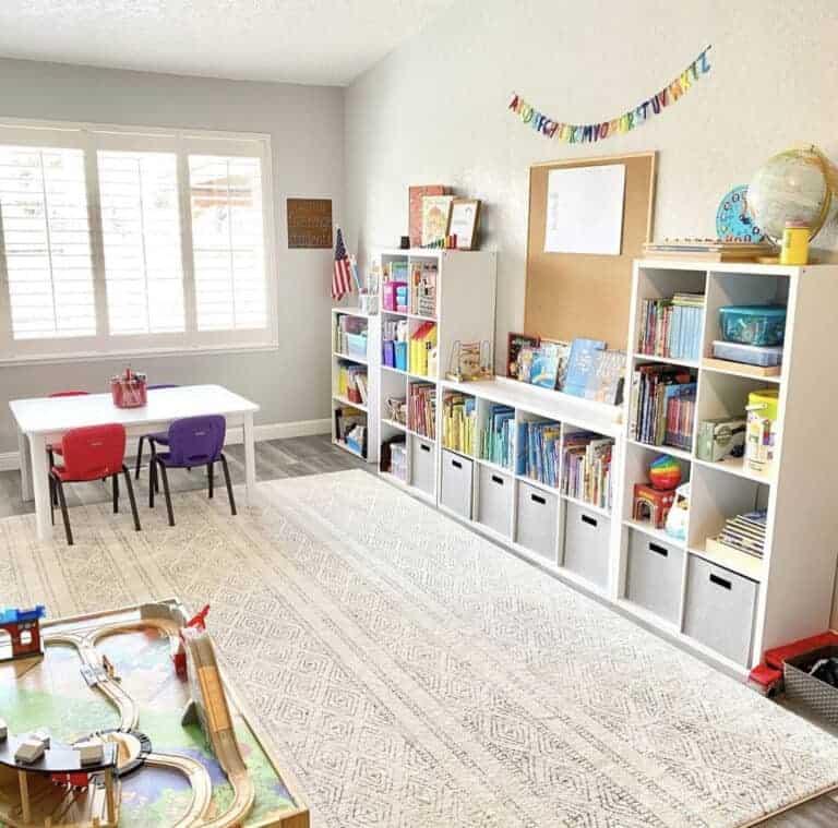 Homeschool Organization and Homeschool Room Ideas