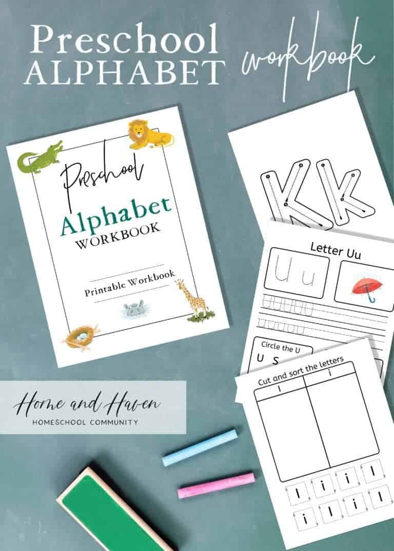 Introducing the Preschool Alphabet Workbook